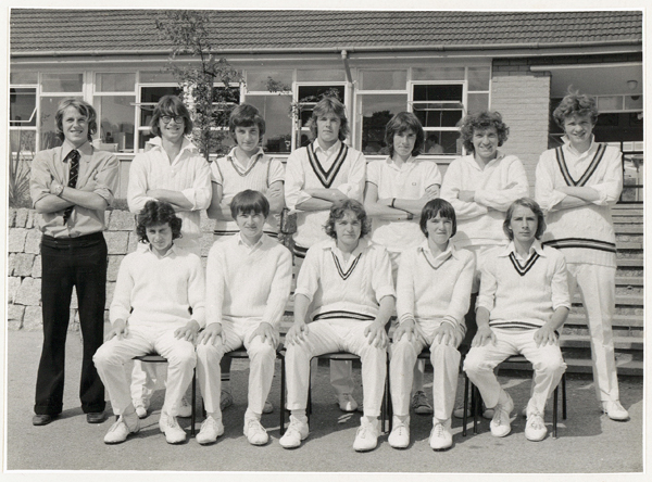 Cricket 1st Team 1975