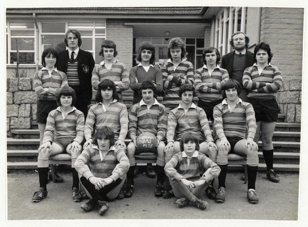 U15 Football Team 1975