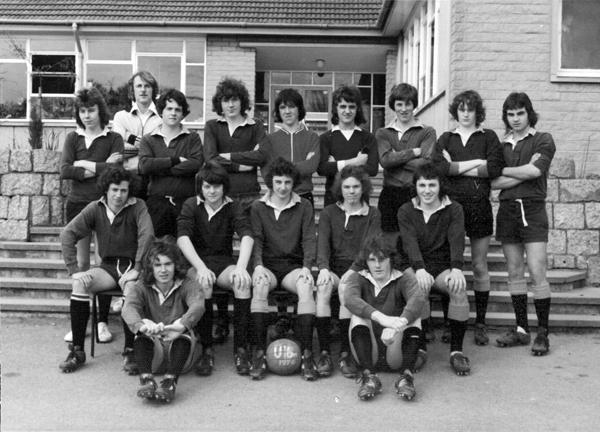 U16 Football Team 1976